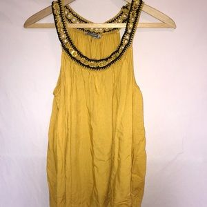 🌟Earthbound Yellow Tank Top